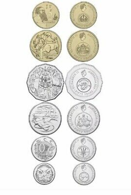 2016 Set 6 Uncirculated Coins - Commemorating 1966 Decimal Currency Changeover