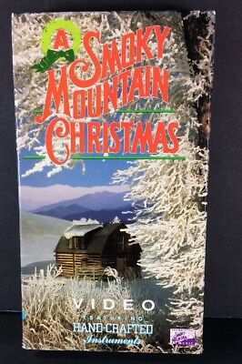 A Smoky Mountain Christmas Video VHS 1991 Hand-crafted instruments Brentwood