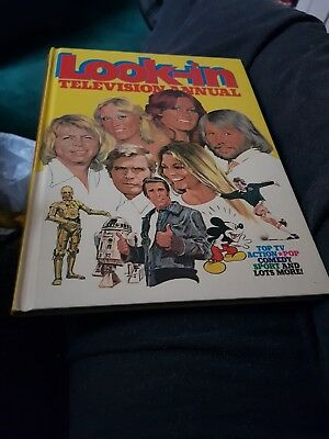 The Look In Tv Annual 1979 X VERY GOOD CONDITION X 1524 X