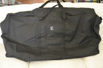 "JL Childress Standard & Dual Stroller Travel Bag Black Canvass 40"" x 20"" x 13"""
