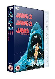 Jaws 2/Jaws 3/Jaws - The Revenge (DVD, 2006, 3-Disc Set, Box Set)