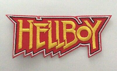 HELLBOY QUALITY  IRON ON PATCH  buy 2 get 1 free