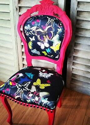 Christian Lacroix Butterfly Parade ' Oscuru 'Louis French Style Chair