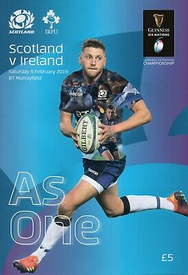 Scotland  v Ireland -  Guinness Rugby Union 6 (Six) Nations - 09 February 2019