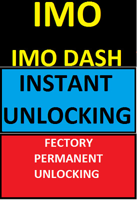 Imo Dash Tesco Unlocking Any Network Any Country Unlock Code Instant
