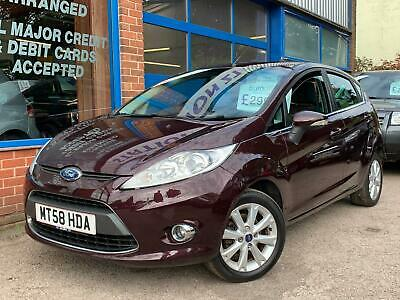 Ford Fiesta 1.25 2009 Zetec LONG MOT 1 FORMER KEEPER FROM NEW