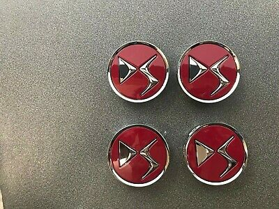 Genuine Citroen Ds3/Ds4/Ds5 Wheel Cap Centre In Jelly Red 98012784Rk