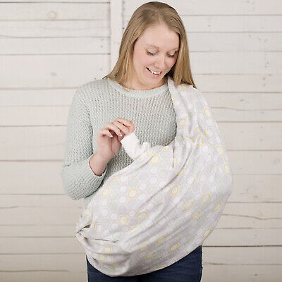 CuddleCo Comfi Love Maternity Nursing Feeding Privacy Scarf - Beehive