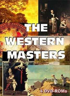 Masters of Western Art - over 47,000 works - 4 DVD-ROM boxed set