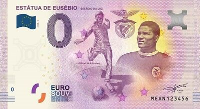 Billet Touristique 0 Euro - Lisboa, Estadio da Luz, Estatua de Eusebio - 2018-3