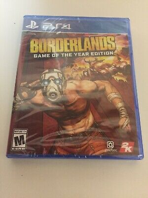 Borderlands Game of the Year Edition + All DLC (PlayStation 4, 2019) PS4 New 4K