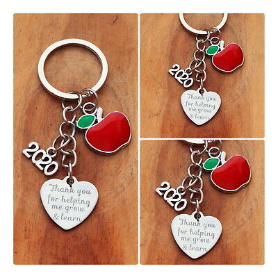 THANK YOU GIFT FOR TEACHER -Teaching assistant,Nursery teacher Keyring 2019 (07)