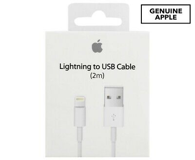 Original Genuine 2M Apple Lightning Data Cable Charger for iPhone 5S 6S 7 8 iPad