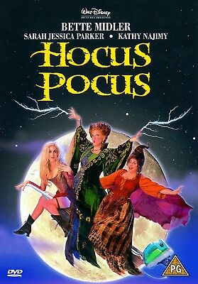 HOCUS POCUS - DVD 1993 Walt Disney  Bette Midler FILM IN ITALIANO
