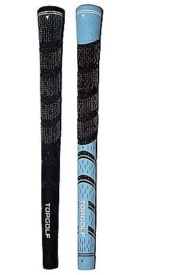 Set of 13 Dual Compound Half Cord Golf Grips NEW with Free Tape & Instructions