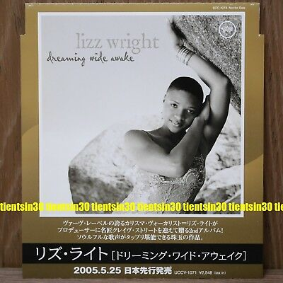 Lizz Wright Dreaming Wide Awake 2005 Japan only 4 Tracks Promo CD Vocal Jazz
