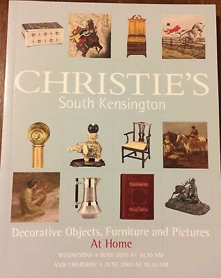 Christie's Catalogue: Decorative Objects, Furniture & Pictures - 2003 - London