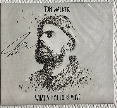 Tom Walker - What A Time To Be Alive Hand Signed Sealed Cd Autographed