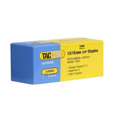 Tacwise 13/10mm Staples Bx/5000