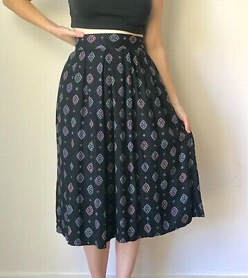 42a28b1cd1 Women's High waisted Vintage Skirt size S/M excellent condition Anthro like