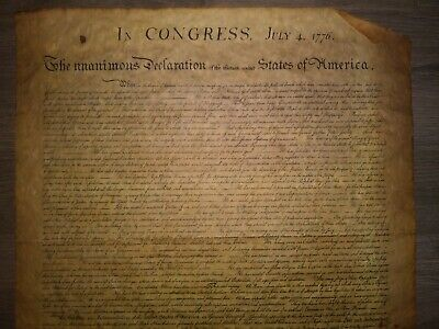 Unanimous Declaration of the 13 United States