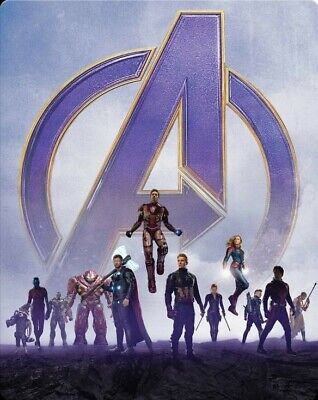 Avengers Endgame 4K Steelbook Limited Edition Will Sell Out!!
