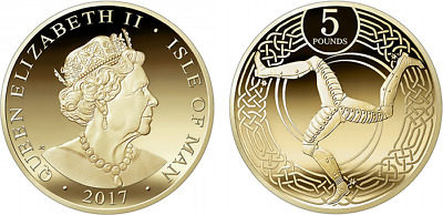 NEW 2017 Isle Of Man £5 Coin Five Pound Coin IOM UNC