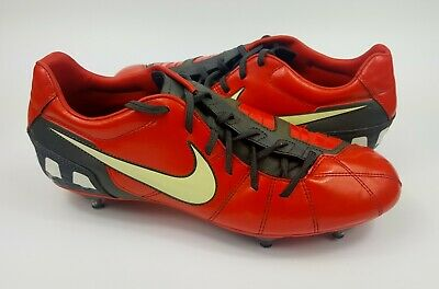a942831675b Mens Nike Total 90 T90 Shoot III SG Red Black Football Boots Size UK 9 EU