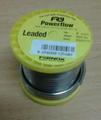 SWC Plumbers Powerflow 500g leaded solder 3mm