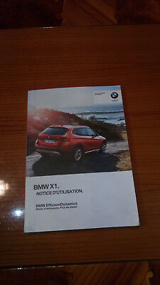 Manuale uso bmw X1 - 2012 - in Francese -