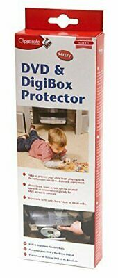 Clippasafe DVD & Digibox Protector Adjustable Protective Child Proof Cover