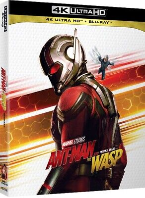 Ant-Man and the Wasp ( 2Disc : 4K UHD + Blu-ray ) Slip Case Edition
