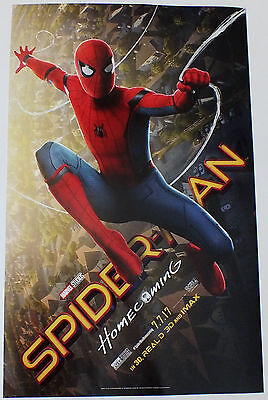 Spiderman Homecoming (2017) Original Theatrical 11 X 17 MARVEL - Tom Holland