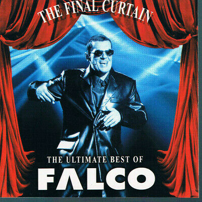 """Falco: """"The Final Curtain - The Ultimate Best of"""", Top CD"""