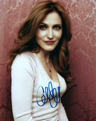 Gillian Anderson 8x10 Signed Photo autographed Picture COA