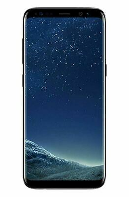 NEW Samsung Galaxy S8 SM-G950U Black 64GB GSM Factory Unlocked T-Mobile AT&T