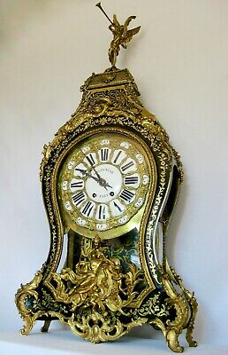 Superb antique Boulle bracket clock, early 19th century.