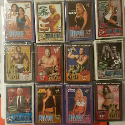 Wwf Raw Deal Collectable Card Game Ccg New Sealed Lita Trish Nwo Hulk Wwe