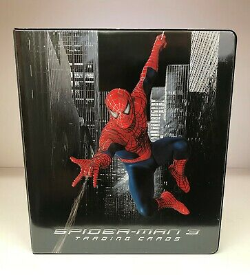 Spider-Man 3 Movie - Trading Card Binder / Album & 3 Promo Cards - 2007