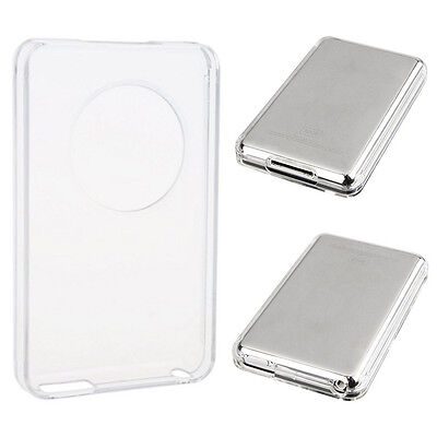 For Ipod Classic 80 GB Clear Crystal Hard Case tector Front Back Cover