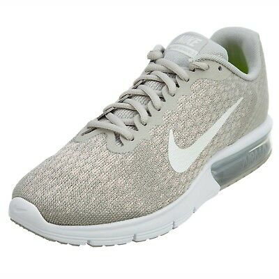 f13b21caa6 Nike Air Max Sequent 2 Women's Running Shoes Sz 5.5 Pale Grey/Sail 852465  011