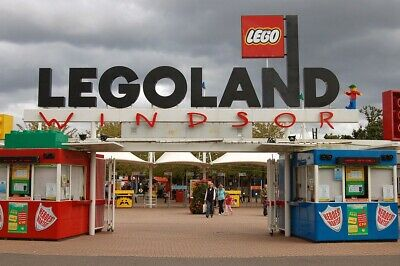 4 Adult Or Child Legoland Windsor Tickets For Thursday 4Th July 2019