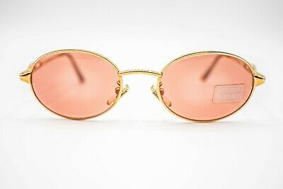 4b8d3ef449 GIANNI VERSACE MOD H84 COL 030 Vintage Sunglasses - GOLD - ROSE - ITALY