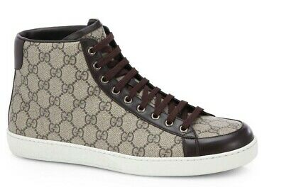 595fe6e736c Sexy Gucci Sneakers High top 100% Authentic Og sz mens US 11 supreme GG  canvas