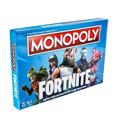 Fortnite Monopoly Limited Edition Board Game Hasbro Inc Brand New