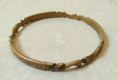 Extremely Ancient Bracelet Viking Bronze Artifact Authentic Rare Type