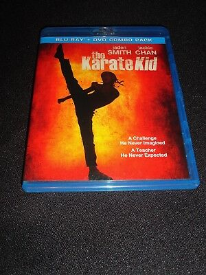 The Karate Kid Blue Ray / Dvd (Like New) No Code