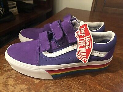 2a7a76f9bb7 VANS OLD SCHOOL V Platform Liberty (Rainbow) Womens Size 9 -  99.99 ...