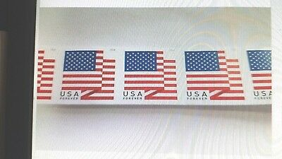 "20 USPS Forever Stamps 1 Book or 2 Strips of 10 Total 20 Stamps ""  Now ""  $9.75"
