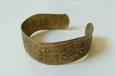 Extremely Rare Ancient viking bracelet bronze artifact authentic stunning